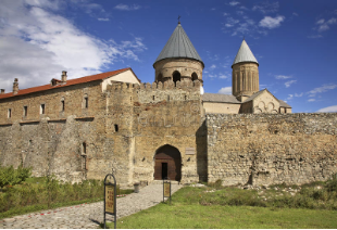 old fortified monastery