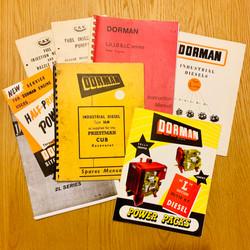 Dorman Manuals and Sales Literature