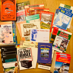 Assorted Canal & Narrowboat Books