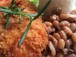 Filé de frango à milanesa