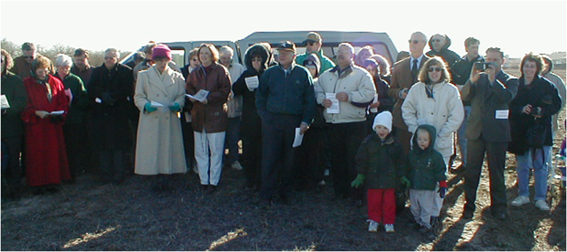 Maple Ground Breaking 12/3/00