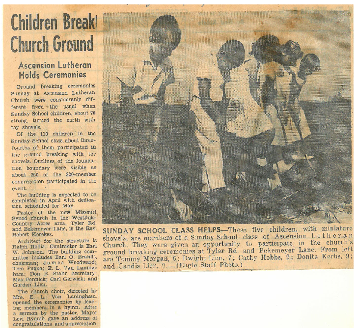 Tyler Campus Groundbreaking 9/18/60