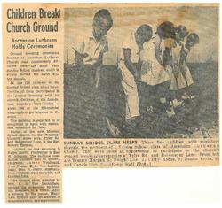 Tyler Campus Groundbreaking 9/18/60