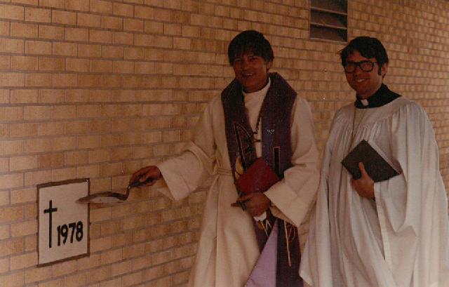 Pastor Pool & Vicar Ed Davis