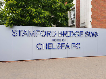 Stamford Bridge SW6 Sign