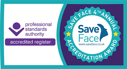 Save Face accredited register