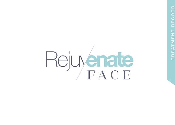 Treatment record for Rejuvenate Face