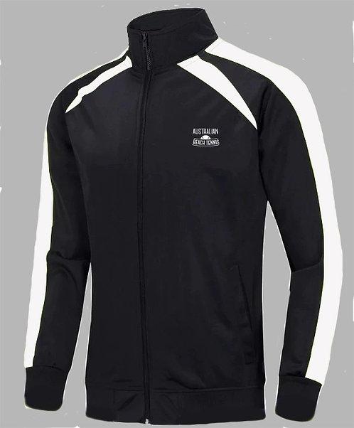 Australian Beach Tennis Black Track Jacket