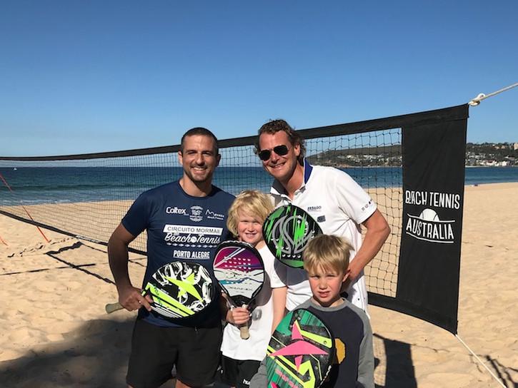 Beach Tennis for all Family
