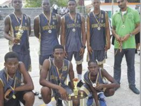 Bequia Community High School Basketball Team Both Male & Female Advances to the Finals.