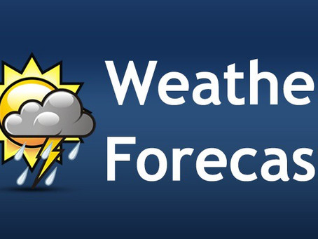 Scattered Showers Across SVG Today.