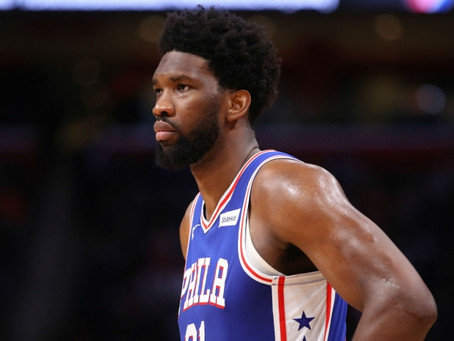 Embiid set for shoulder scan, 76ers coach Brown 'unsure' over star's fitness
