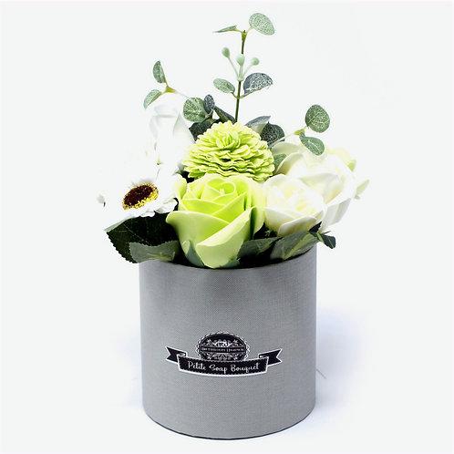 Delicate Pastel Green Flower Pot