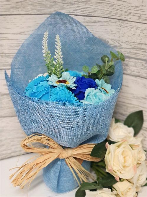 Sapphire Soap Flower Bouquet