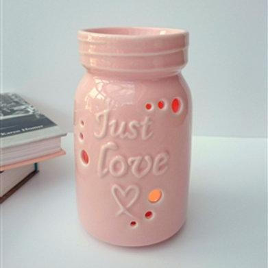 Pink Jar Burner