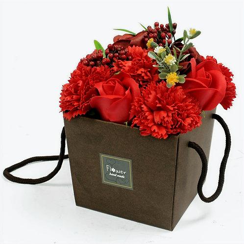 Ruby Rose & Carnation Gift Box