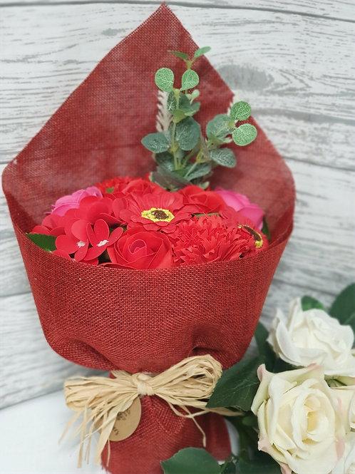 Ruby Soap Flower Bouquet