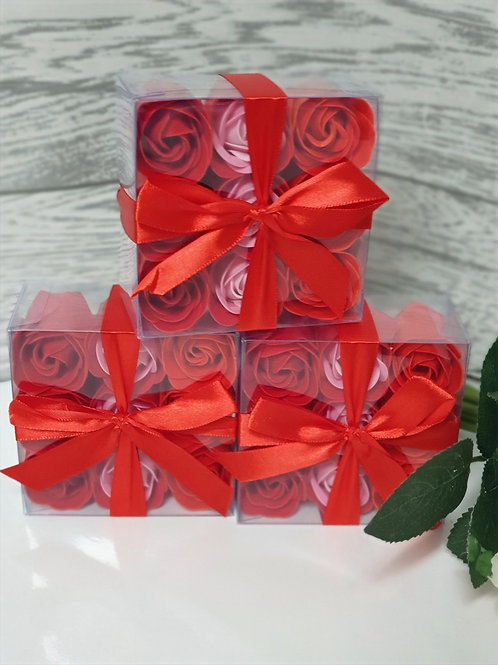Queen of Hearts Soap Roses