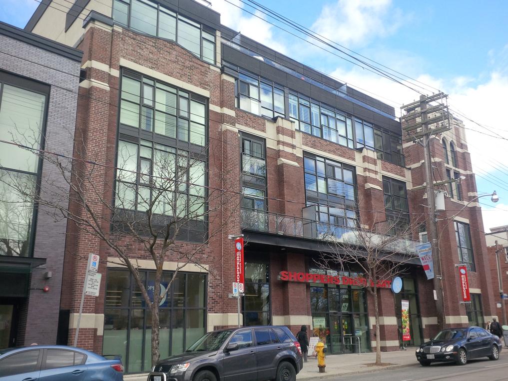 Toronto Retail Building