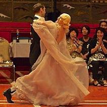 外国人社交ダンサー、関西ロシア人社交ダンサー
