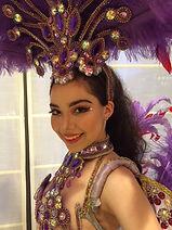 ブラジル人ダンサーMelissa,ブラジル人モデルタレント