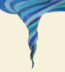 Structured water vortices