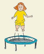 traumatic trembling, shaking, shake off, bouncing, rebounding,