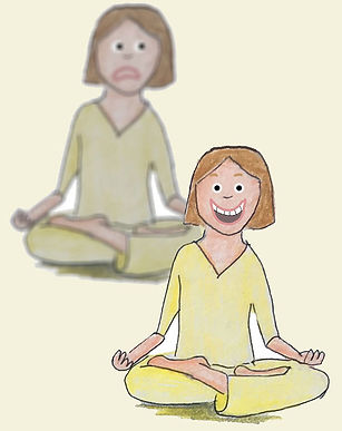 Meditation, Dissociation, Shadow, ungrounded happiness, pollyanna