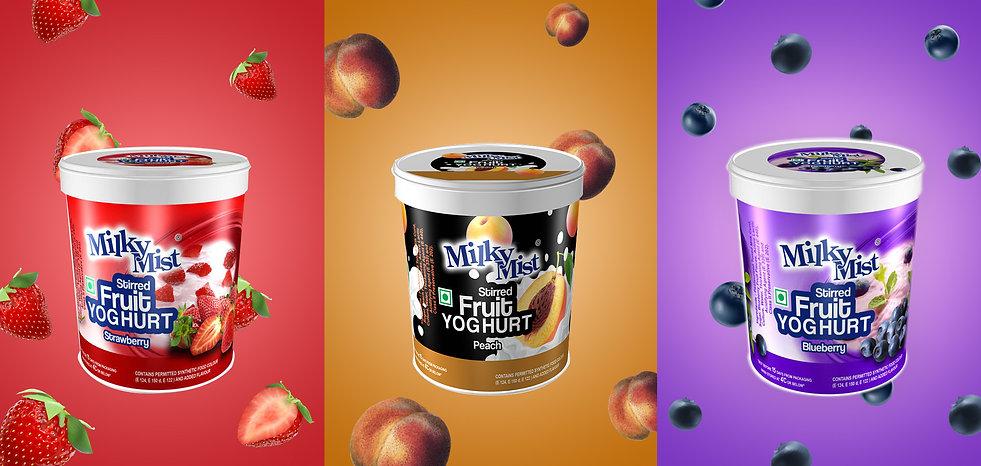Bucket Fruit Yogurt