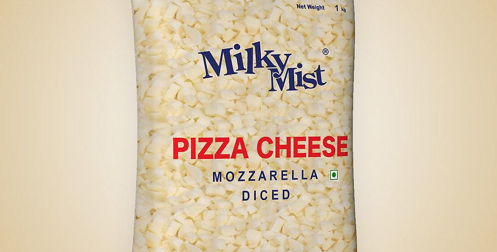 Mozzarella Diced (Pizza Cheese)