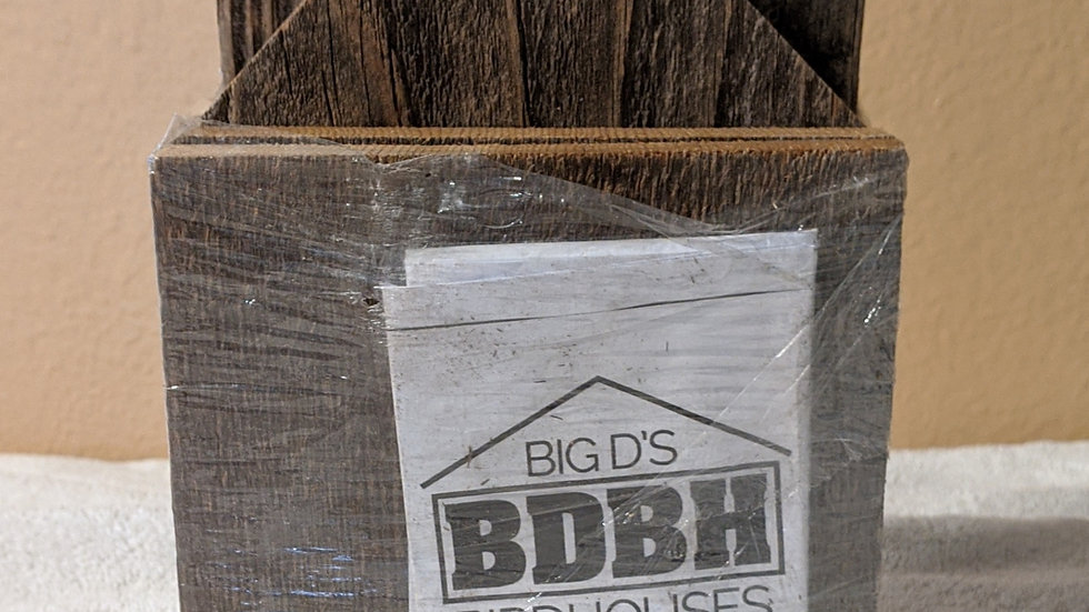 Big D's Birdhouse Kit