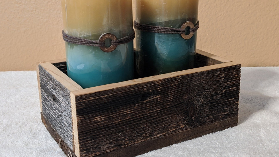 Rustic Box Decor