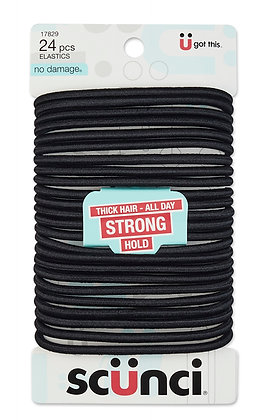 24 Pk 5 mm TH N/D Elastics Black