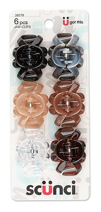 6 Pk 4 cm Octo Jaw Clips