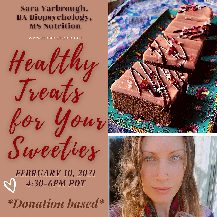 Healthy Treats for Your Sweeties