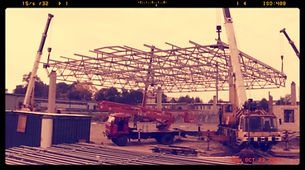 Строительство складских помещений