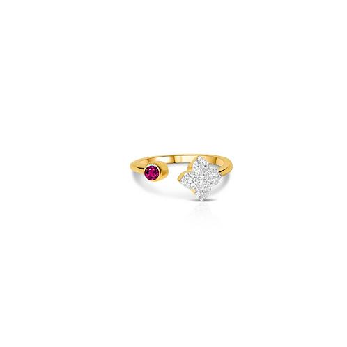 Saira Pink Tourmaline Ring