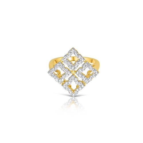 Mira Cocktail Ring Gold