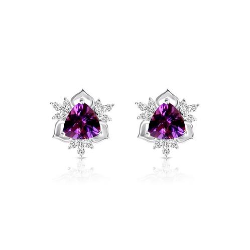 Nizam Amethyst Earrings