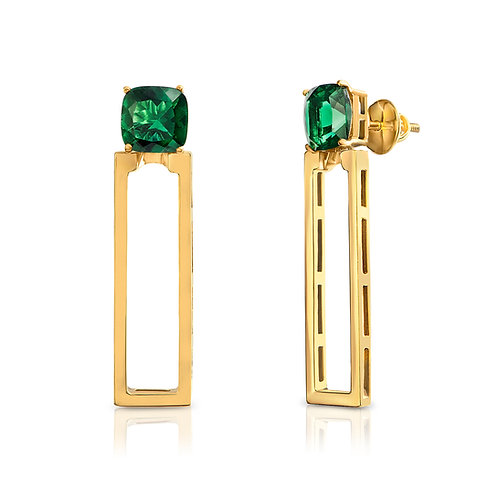 Emerald Green Lava Droplets
