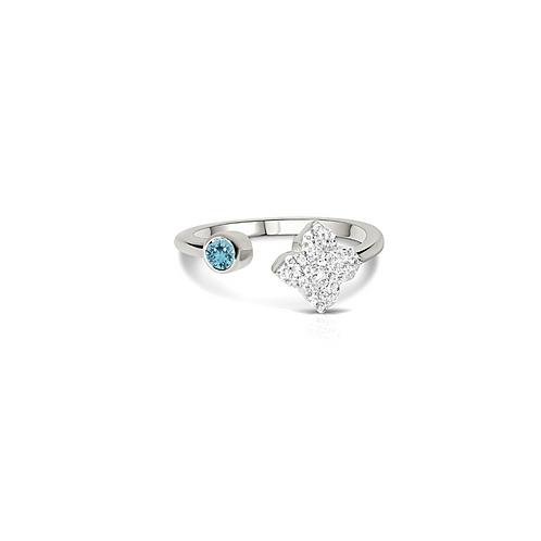 Saira Aquamarine Ring