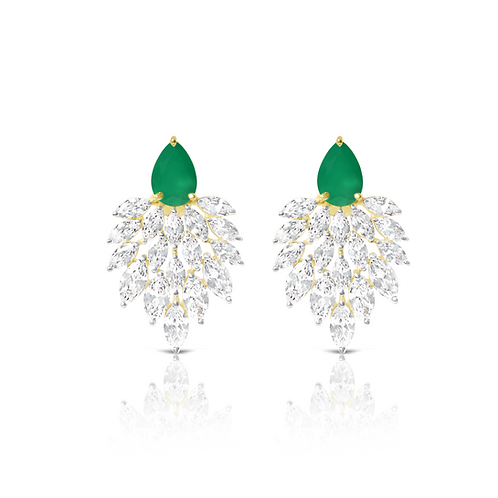 Green Onyx Peacock Shaheen