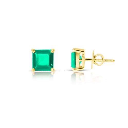 Emerald Green Square Pops
