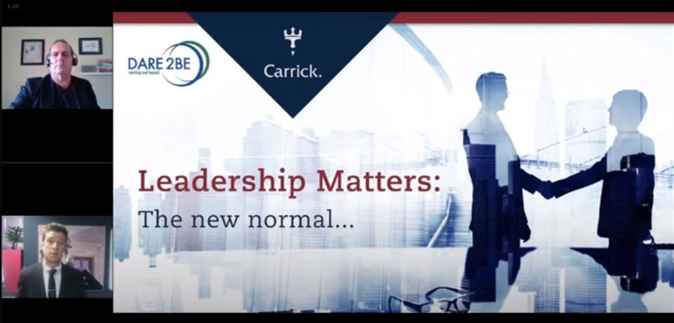 9. CARRICK WEALTH WEBINAR LEADING - THE