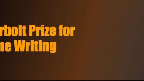 Thunderbolt Prize for Crime Writing taken out!