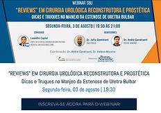 """""""REVIEWS"""" EM CIRURGIA UROLÓGICA RECONSTRUTORA E PROSTÉTICA  Dicas e Truques no Manjeo da Estenose de Uretra Bulbar"""