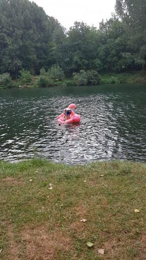 op de roze flamingo :-D