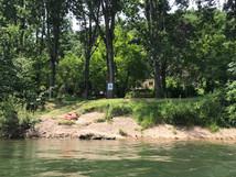 Camping vanaf het water
