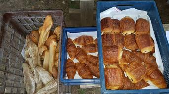 heerlijk geurend vers brood