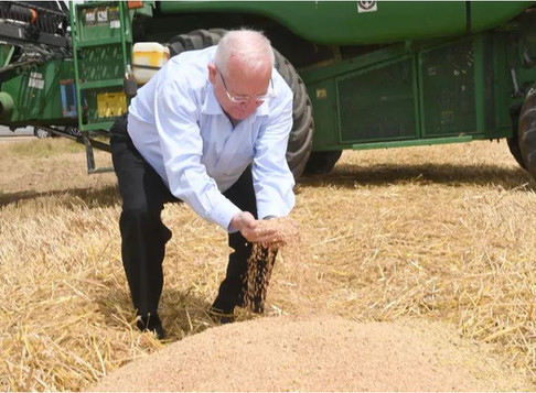 Rivlin on Gaza border: Without agriculture, Israel has no independence